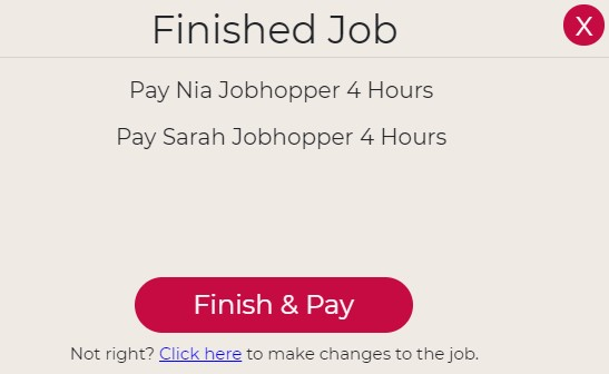 jobhop provider payment